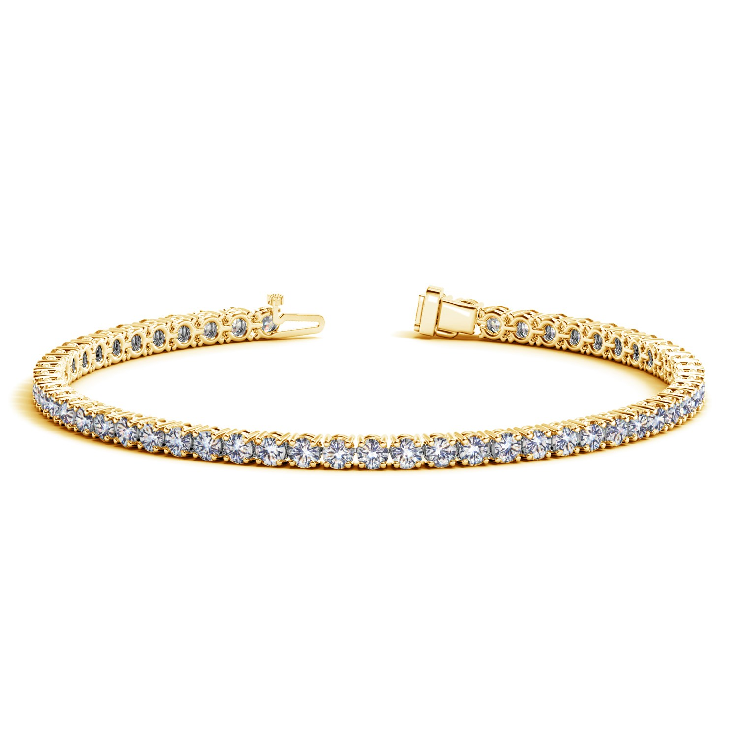bracelet white i in com dp gold jewelry j tennis diamonds amazon cttw diamond
