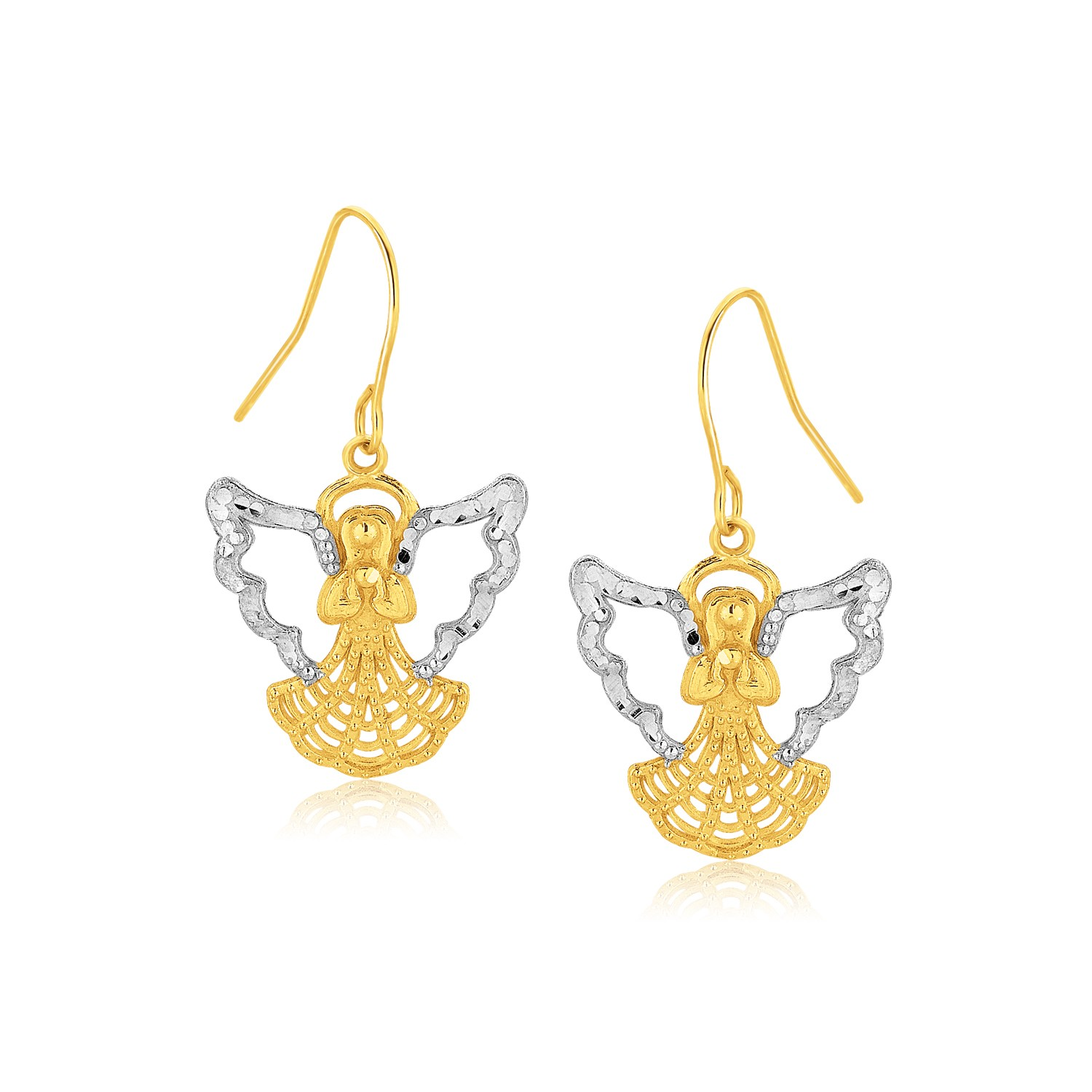 product stud claddagh earrings gold