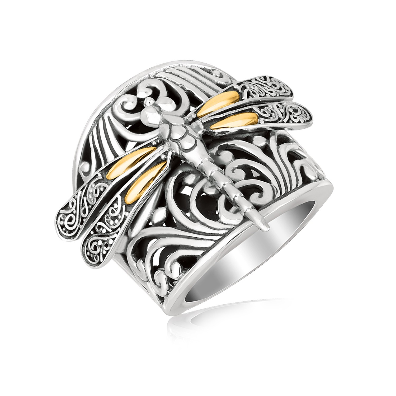 engagement cs rings dragonfly ring