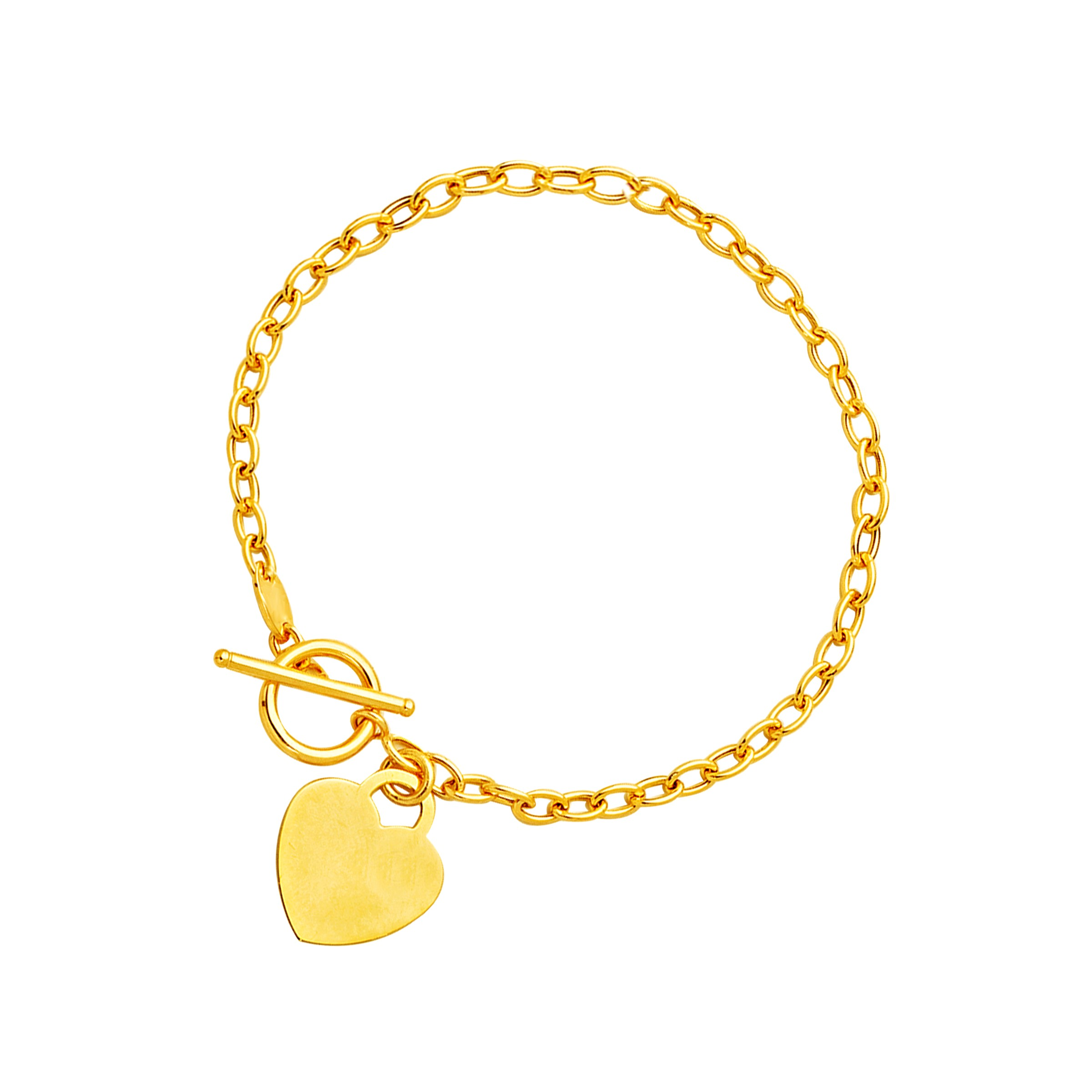 out layered bracelet sammydress com metal in crown gold toggle hollow