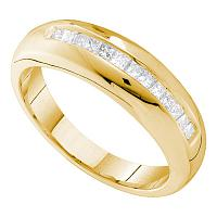 Men's Gold Wedding Ring