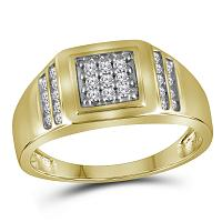 Men's Gold Fashion Ring